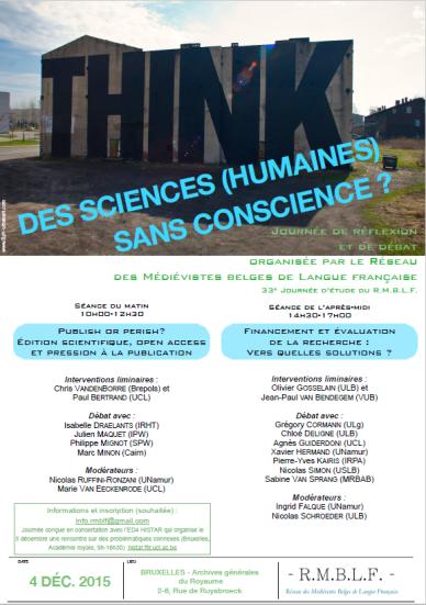 Des sciences humaines sans conscience
