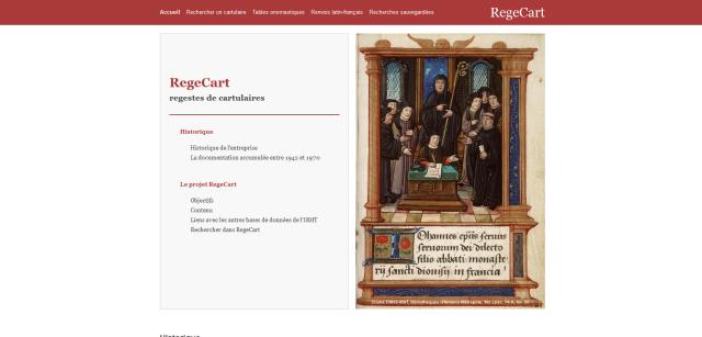 IRHT - RegeCart