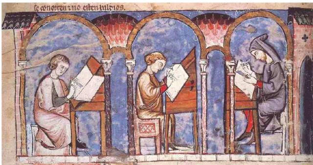 Livre médiéval - LAMOP