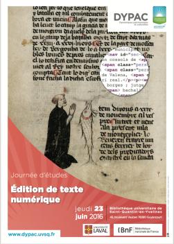Edition du texte numérique