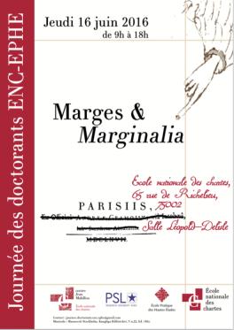 Marges et marginalia