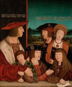 bernhard-striegel-la-famille-habsburgs-1516-vienne-249x300
