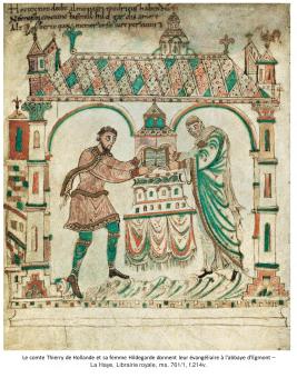 Comtes et abbayes dans le monde franc