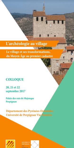 Archéologie au village