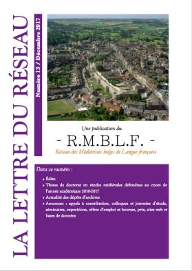 RMBLF - Lettre 13
