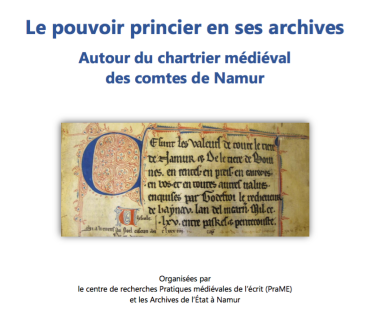Chartrier comtal Namur