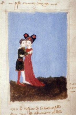 Bodleian Douce 188, Roman de la Rose (15e)